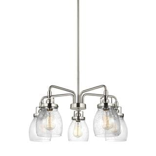 Sea Gull Belton 5 Light Brushed Nickel Chandelier