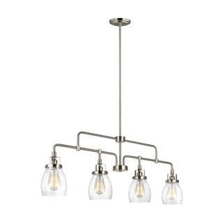 Sea Gull Belton 4 Light Brushed Nickel Pendant