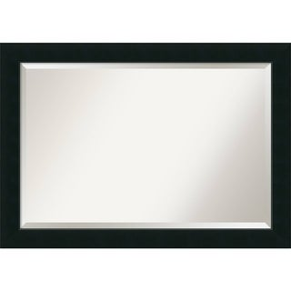 Wall Mirror Extra Large, Corvino Black 41 x 29-inch
