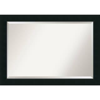 Wall Mirror Extra Large, Corvino Black 41 x 29-inch - 29 x 41 x 0.888 inches deep