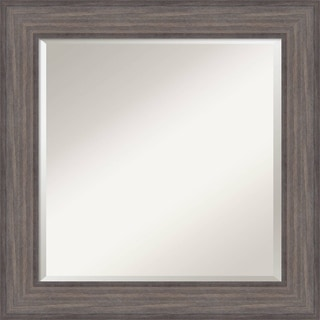 Wall Mirror, Country Barnwood