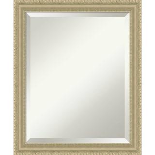 Wall Mirror, Champagne Teardrop Wood