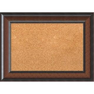 Framed Cork Board, Cyprus Walnut