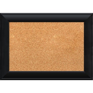 Framed Cork Board, Nero Black