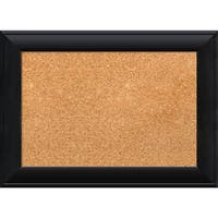 Framed Cork Board, Nero Black