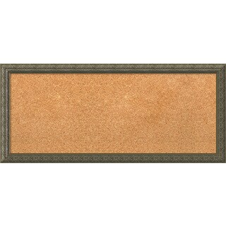 Framed Cork Board, Barcelona Champagne (5 options available)
