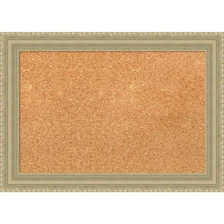 Framed Cork Board, Champagne Teardrop (3 options available)