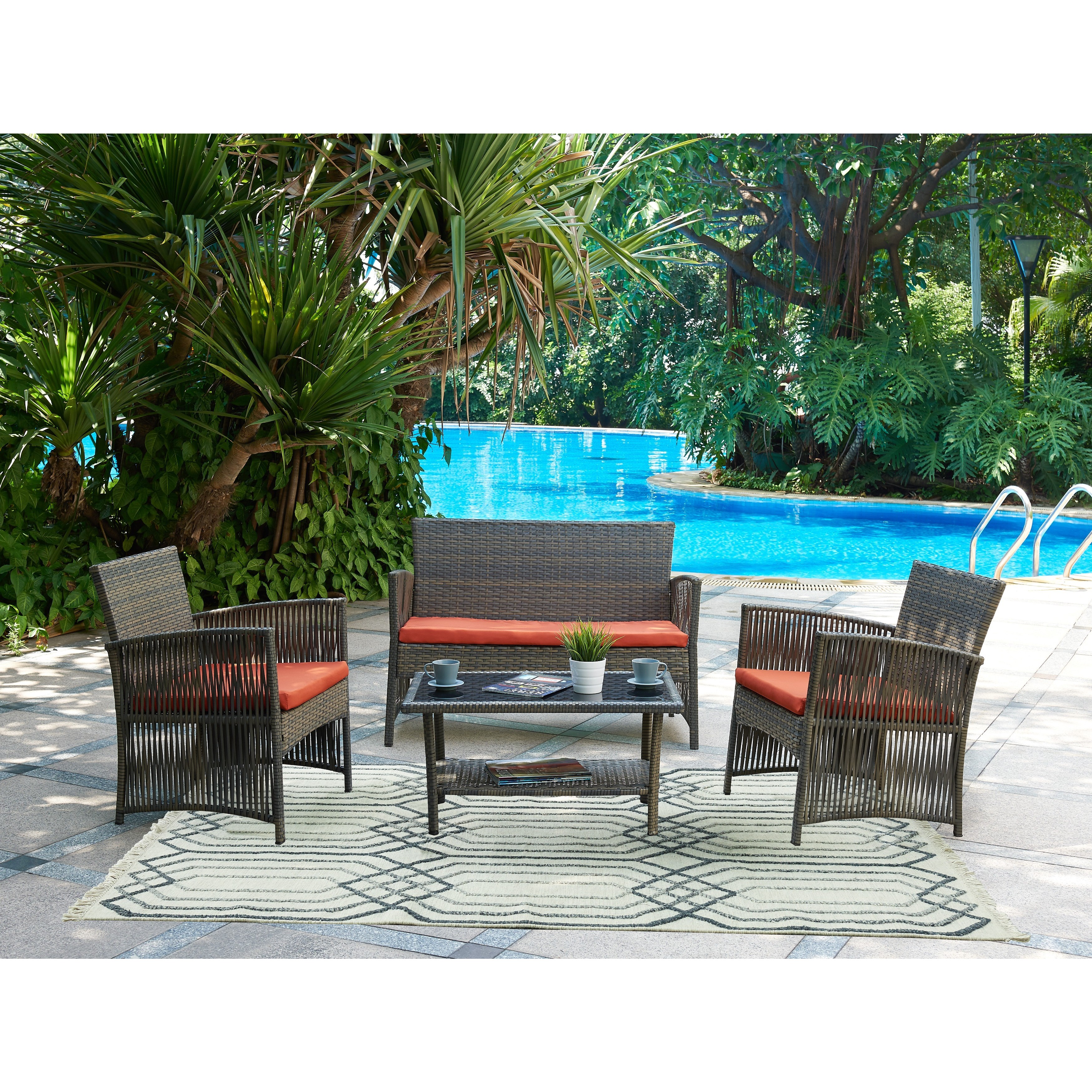 Stupendous Dg Casa Patio Furniture Find Great Outdoor Seating Andrewgaddart Wooden Chair Designs For Living Room Andrewgaddartcom