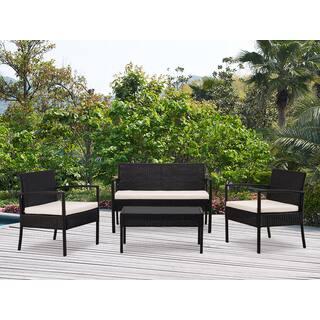 Dg Casa San Juan Loveseat 2 Chairs And Table Set Of 4