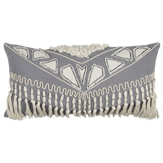 Rizzy Home Cotton 14-inch x 26-inch Tribal-patterned Throw Pillow