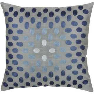 Rizzy Home Dots Circularly Placed Polyester Decorative Throw Pillow