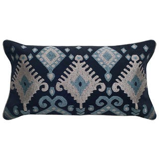 Rizzy Home Ikat with Flourishes Cotton / Polyester Decorative Throw Pillow https://ak1.ostkcdn.com/images/products/14308821/P20890858.jpg?impolicy=medium