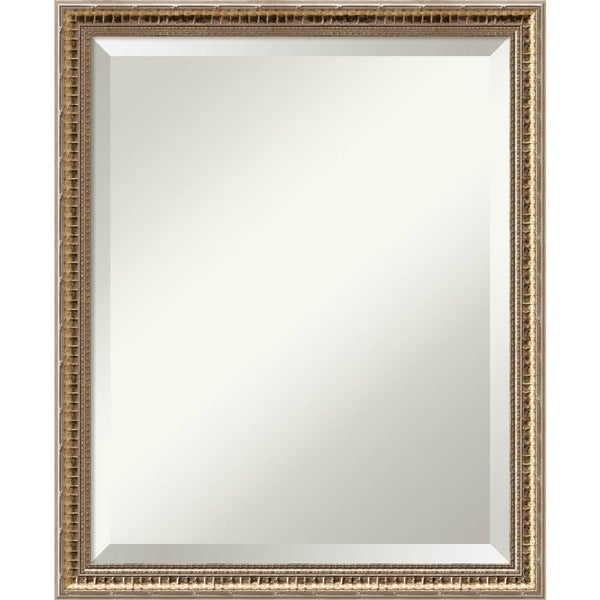Wall Mirror, Fluted Champagne Wood. Opens flyout.