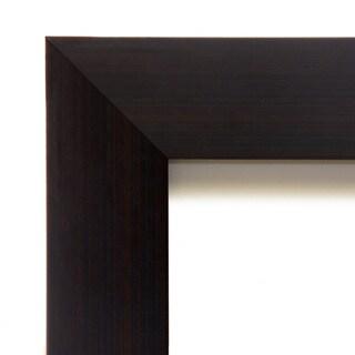 Wall Mirror, Portico Espresso Wood