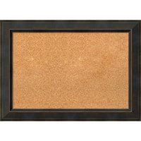 Framed Cork Board, Signore Bronze