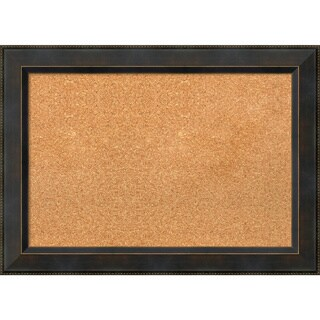 Framed Cork Board, Signore Bronze (3 options available)