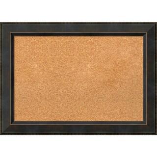 Framed Cork Board, Signore Bronze