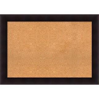 Framed Cork Board, Portico Espresso