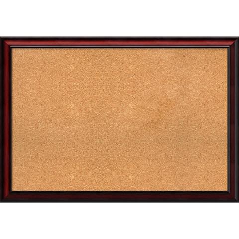Framed Cork Board, Rubino Cherry Scoop