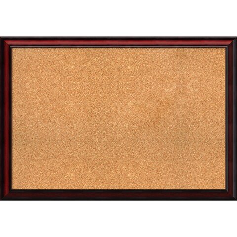 Framed Cork Board, Rubino Cherry Scoop