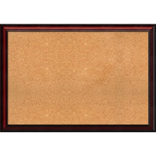 Framed Cork Board, Rubino Cherry Scoop (2 options available)