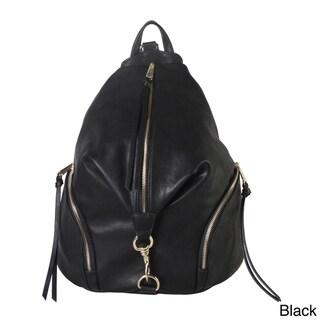 Diophy Zipper Pocket Fashion Backpack