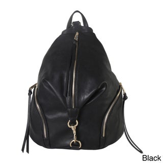 Diophy Zipper Pocket Fashion Backpack