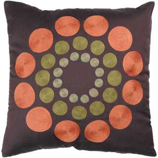 Rizzy Home Circles Polyester Decorative Throw Pillow