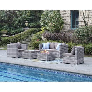 DG Casa Acapulco Grey Sofa Set Of 6