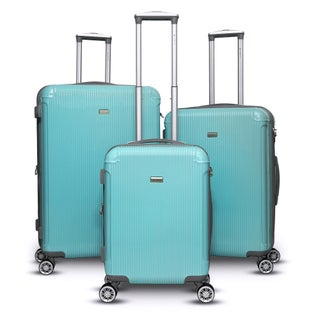 Gabbiano Genova 3 Piece Spinner Hardside Spinner Luggage Set (4 options available)