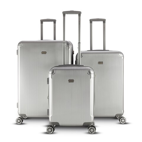 Gabbiano Genova 3 Piece Spinner Hardside Spinner Luggage Set