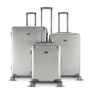 Gabbiano Genova Collection 3 Piece Spinner Hardside Luggage Set