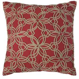 Rizzy Home Floral Cotton Decorative Throw Pillow