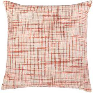 Rizzy Home Heathered Woven Cotton Decorative Throw Pillow