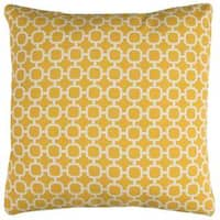 Rizzy Home Geometric Indoor Outdoor 22-inch x 22-inch Polyester Decorative Filled Throw Pillow