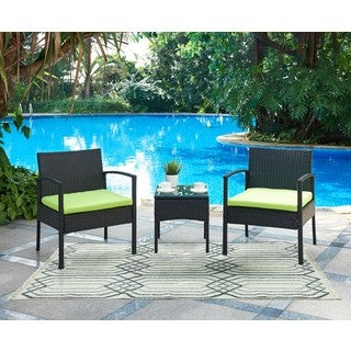 DG Casa San Juan Two Chairs and Table Patio Set