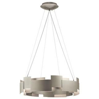 Kichler Lighting Moderne Collection 2-light Satin Nickel LED Chandelier