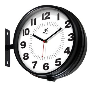 Infinity Instruments Hallway 10.75-inch Round Wall Clock