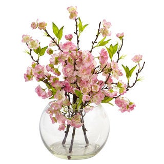 Cherry Blossom in Large Vase