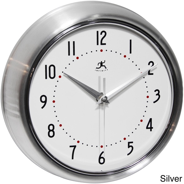 Silver Wall Clocks Online At