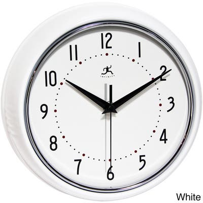 White Kitchen Clocks Online At