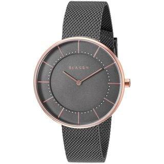 Skagen Women's SKW2584 'Gitte' Grey Stainless Steel Watch