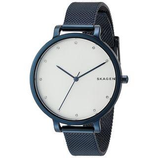 Skagen Women's SKW2579 'Hagen' Crystal Blue Stainless Steel Watch