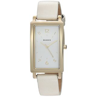 Skagen Women's SKW2566 'Hagen' White Leather Watch