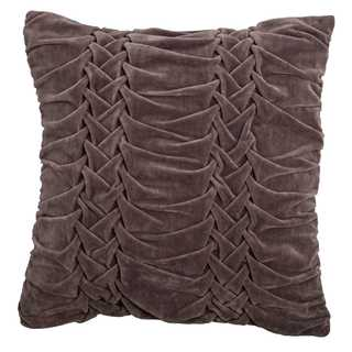 Rizzy Home Solid Cotton Square Decorative Throw Pillow