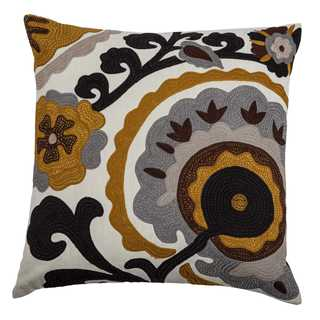 Rizzy Home Medallion 20 x 20 Cotton Decorative Filled Throw Pillow