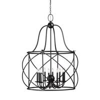 Sea Gull Turbinio 10 Light Blacksmith Hall Foyer Fixture
