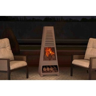 Sunjoy Colby 55 Contemporary Steel Chiminea for a Quick, Inexpensive Outdoor Remodel
