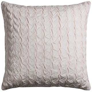 Rizzy Home Cotton 22-inch x 22-inch Solid Decorative Filled Throw Pillow