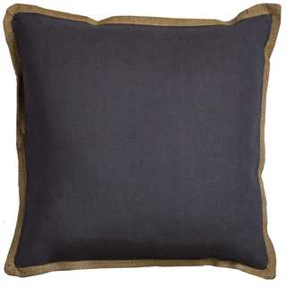 Rizzy Home Solid 22-inch x 22-inch Cotton Decorative Filled Throw Pillow